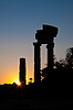 Rhodes Landmark Acropolis | Stock Foto