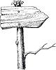 Векторный клипарт: указатель