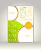 Flyer, Broschüre oder Magazin-Cover-Vorlage