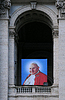 ID 4297887 | Porträt von Papst Johannes Paul II. am Basilika | Foto mit hoher Auflösung | CLIPARTO