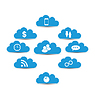 Cloud Computing und Technik, Infografik-Design