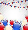 Amerikanischen Hintergrund für Independence Day