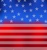 Abstrakt American Flag für den 4. Juli