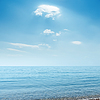 Clouds over blue sea | Stock Foto