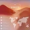 Web-und Mobile-Schnittstelle Hintergrund