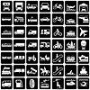 Transport Symbole Set