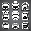 öffentlichen Transportetikett