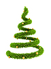 3d символической новогодней дерева | Иллюстрация