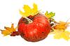 ID 4514910 | 红熟南瓜和红叶 | 高分辨率照片 | CLIPARTO