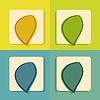 modernen Flach Icon für Web-und mobile Anwendungen