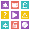 Icons für Web-Design Satz 24