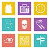 Farbe Icons für Web-Design-Set 28