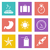 Farbe Icons für Web-Design-Set 29