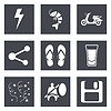 ID 4230708 | Icons für Web-Design Set 27 | Stock Vektorgrafik | CLIPARTO