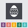 Easter Egg einzelnes Symbol