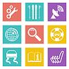Farbe Icons für Web-Design-Set 39