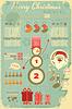 ID 4088229 | Archiwalne Christmas Infograficzna z Mikołajem | Klipart wektorowy | KLIPARTO