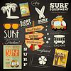 Surfen Poster Tafel-Design-