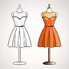 Kleid auf dress