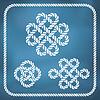 ID 4363828 | Dekorative Seil Knoten | Illustration mit hoher Auflösung | CLIPARTO