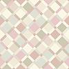Векторный клипарт: бесшовные модели - геометрическая пастельных цветов современный