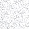 Векторный клипарт: бесшовные модели - геометрическая хаотично круговой свет