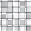 Векторный клипарт: бесшовные модели - квадраты геометрический монохромный