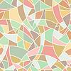 nahtlose Muster - abstrakte chaotisch Pastellfarben