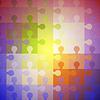 퍼즐의 추상적 인 색 배경 | Stock Vector Graphics