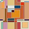 Nahtlose Farbtextur aus quadratischen Elementen