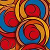 ID 4305238 | Nahtlose Muster mit abstrakten Blumen, Rosen | Stock Vektorgrafik | CLIPARTO