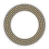 Geometrische dekorative runde Element mit Platz für