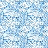 abstrakte nahtlose Muster mit Sternen