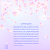 Векторный клипарт: Сирень текстуры с лепестками фиолетового цветов.
