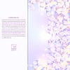 Векторный клипарт: Сирень текстуры с лепестками фиолетовыми цветами и области Латвийской