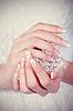 美丽的女手修甲 | 免版税照片