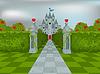 Palast der Königin der Herzen