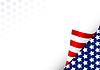 Amerikanischer Hintergrund
