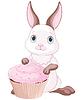 Векторный клипарт: Сладкий кролик