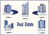 Векторный клипарт: Набор векторных иконок Недвижимость