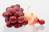 Grapes and apple | Stock Foto