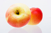 Two ripe red apples | Stock Foto