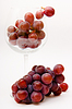 Grapes in wine glass | Stock Foto