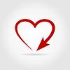 Pfeil-Herz