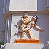 Alte erotische Flachrelief | Stock Foto