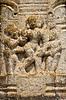 고대의 에로틱 한 부조 | Stock Foto