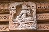 고대의 벽 조각 | Stock Foto