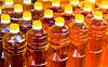Flaschen von Sonnenblumenöl | Stock Photo