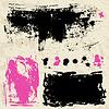 Ink splatters. Grunge Design-Elemente-Sammlung