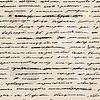 Hand geschriebenen Textentwurf. nahtlose Hintergrund